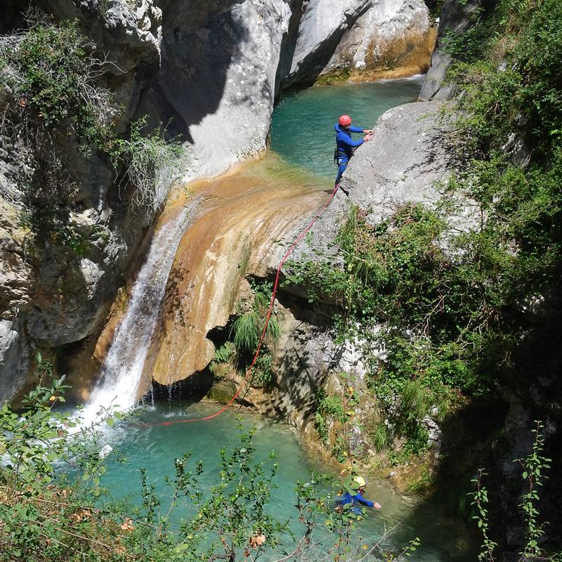 canyoning canyon de la Maglia
