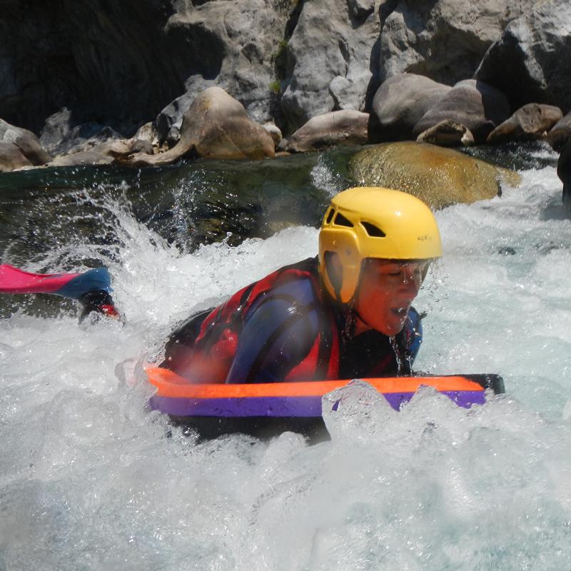 hydrospeed en rivière